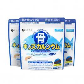 Combo 3 gói bột canxi cá tuyết dành cho bé Fine Japan Nhật Bản 140g