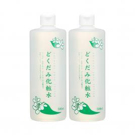 Combo 2 chai nước hoa hồng diếp cá Dokudami Natural Skin Lotion 500ml