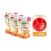 Combo 3 gói mì ăn dặm Baby Somen HakuBaku 100g (Cho trẻ từ 5 tháng)