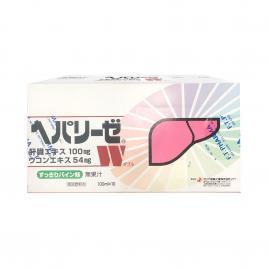 Hộp nước uống giải độc gan Zeria Hepalyse W Nhật Bản (10 chai x 100ml)
