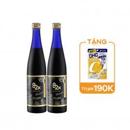 Combo 2 chai nước uống Collagen Mashiro 82x Sakura Premium New 120.000mg 500ml