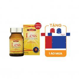 Viên uống hỗ trợ giảm mỡ máu và Cholesterol Waki Bewel Less 45 viên