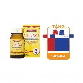Viên uống hỗ trợ điều trị tiểu đường Waki Bewel Glucowel 45 viên