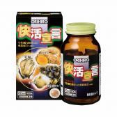 Tinh chất hàu tươi - tỏi - nghệ hỗ trợ tăng cường sinh lực nam Orihiro 180 viên