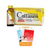 Nước uống Superior Collagen 10000mg Nhật Bản (Hộp 10 chai x 50ml)