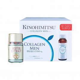 Bộ đôi nâng hạng nhan sắc Kinohimitsu Collagen Men và tăng cường sinh lý Josephine Oyster Extract