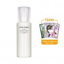 Sữa tẩy trang không cồn Shiseido Creamy Cleansing Emulsion 200ml