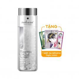 Serum dưỡng trắng, chống lão hóa Sakura Beauty Solution Placenta CoQ10 40 viên