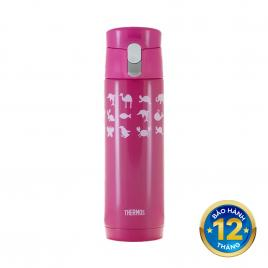 Bình nước giữ nhiệt Thermos JMX-502-Pink 500ml
