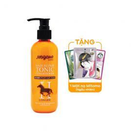 Dầu xả phục hồi tóc chiết xuất dầu ngựa Nagano 250ml