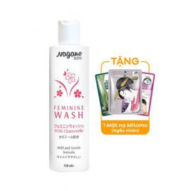 Dung dịch vệ sinh phụ nữ Nagano Feminine Wash With Chamomile 150ml