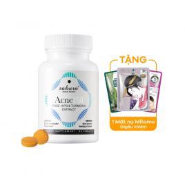 Viên uống trị mụn Sakura Acne Pill 60 viên