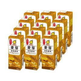 Combo 12 hộp sữa đậu nành lúa mạch Marusan Soymilk Malt 200ml