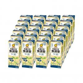 Combo 24 hộp sữa đậu nành hữu cơ không đường Marusan 200ml