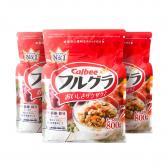 Combo 3 gói ngũ cốc trái cây Calbee Nhật Bản 800g