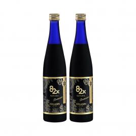 Combo 2 chai nước uống Collagen Mashiro 82x Sakura Premium 120.000mg 500ml