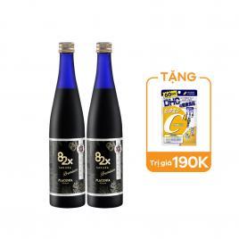 Combo 2 chai tinh chất nhau thai Placenta Mashiro 82x Sakura Premium 450.000mg 500ml