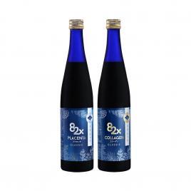 Bộ đôi nước uống Collagen và tinh chất nhau thai Placenta Mashiro 82x Classic 500ml