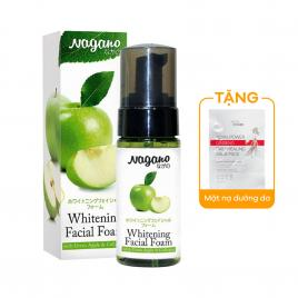 Kem bọt rửa mặt trắng da chứa collagen Nagano 50ml